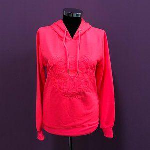 Kenzo Women Neon Pink Hoodie NWT 100%